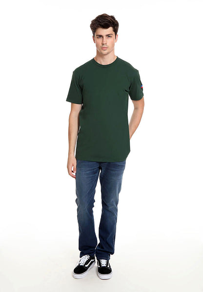 END-RK013/TSHIRT H FLAG BASIC GREEN M