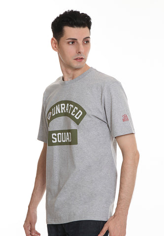 END-RL002/TSHIRT E UNRATED SQUAD MISTYGREY M