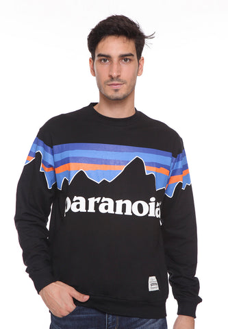 END-RL006/SWEATER E PARANOIA BLACK-M