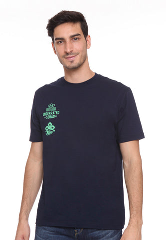 END-SC002/TSHIRT E UNDERRATED SQUAD NAVY-M