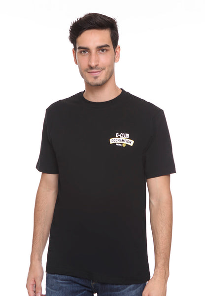 END-SC003/TSHIRT E CHAMP CLUB BLACK-M