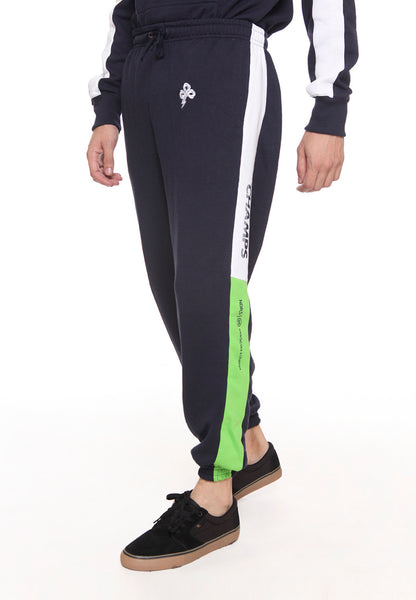 END-SD002/PANTS I CHAMPS JOGGER NAVY GREEN M