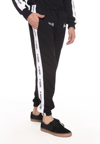 END-SD004/PANTS I THUNDER CROWN JOGGER BLACK M