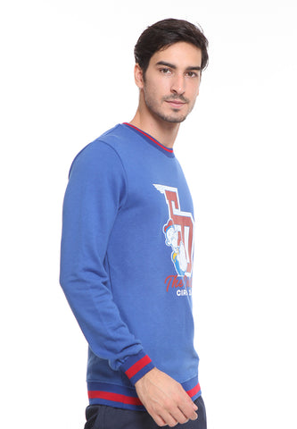 END-SD008/SWEATER H THE DELIGHT NAVY M