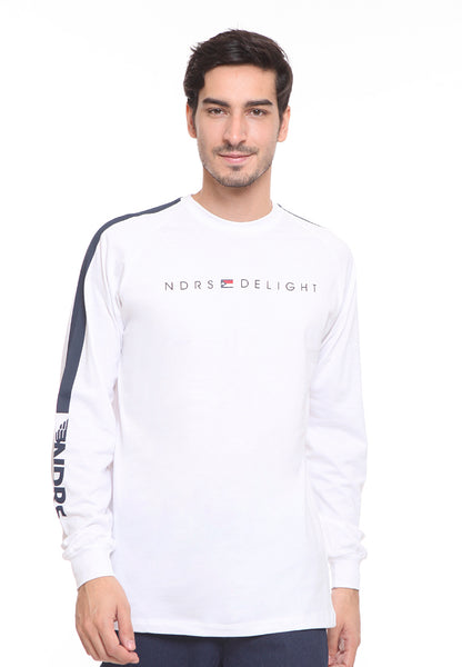 END-SD011/TSHIRT H LS NDRS DELIGHT WHITE M
