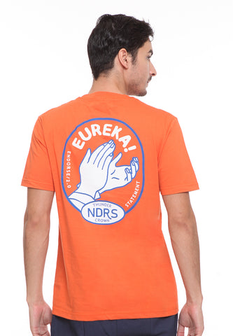 END-SE003 / ENDORSE TSHIRT E EUREKA ORANGE M