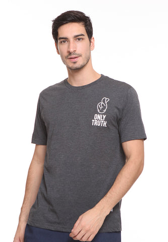 END-SE009 / ENDORSE TSHIRT E ONLY TRUTH MISTY BLACK M