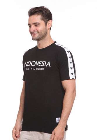 END-SE011 / ENDORSE TSHIRT E UNITY IN DIVERSITY BLACK M