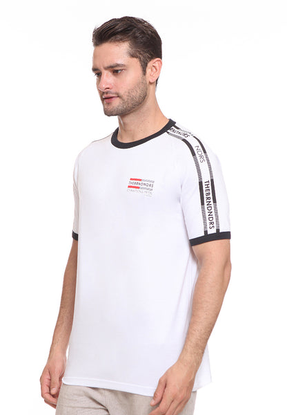 END-SF008/ENDORSE TSHIRT E CHAMPS STRIPES WHITE M
