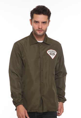 END-SJ002/ENDO JACKET COACH SQUAD ARMY-M