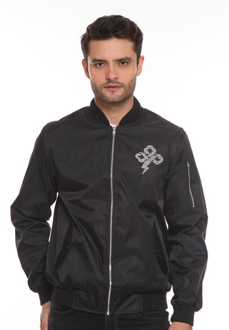 END-SJ006/ENDO JACKET E BOMBER THUNDER BLACK-M