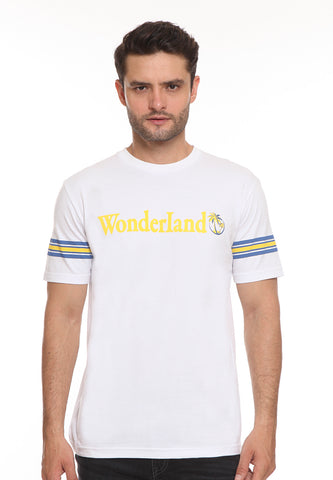 END-SJ007/ENDORSE TSHIRT WONDERLAND WHITE M