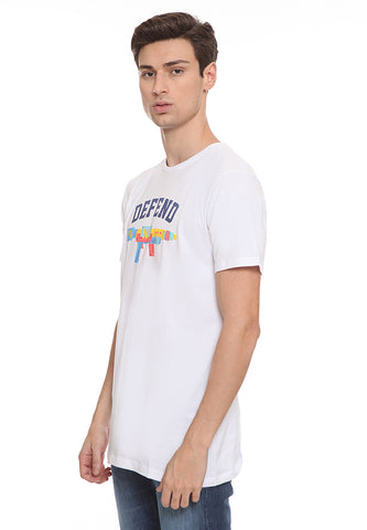 END-SL009 / ENDORSE TSHIRT HD DEFEND WHITE M