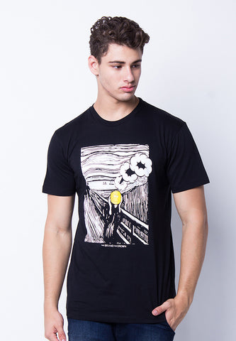 END-PE063/TSHIRT-H-SCREAM-BLACK-M