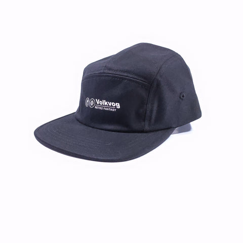 VOLKVOG HAT VLV-TB003 RF PANEL CAP BLACK
