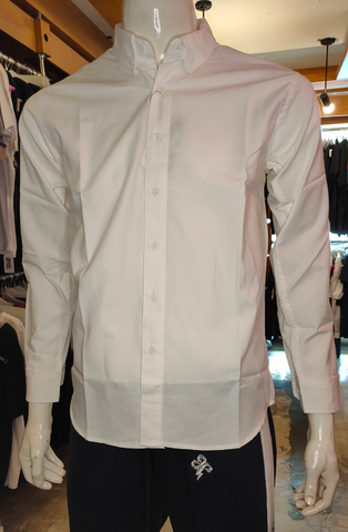 MONOCHROME MT 112521 ML LS IVORY OXFORD