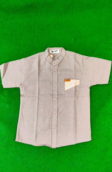 MUSKY MUS SG001 SHIRT MS JR SST 9964 GRAY