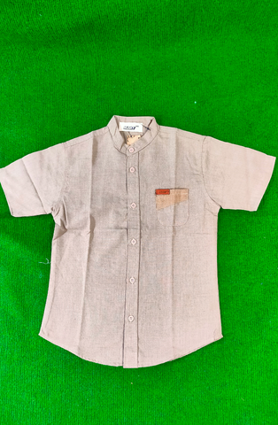 MUSKY MUS SG007 SHIRT MS SST 9979 BROWN