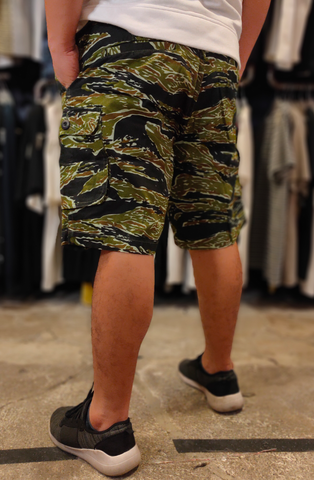 TENDENCIES 18ITND M48CG004 CAMO BUSH CARGO SHORT