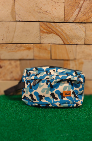 DOOKIE DKE SF014 HANDBAG JOE CAMO BLUE