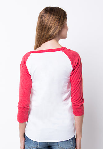 END-PF127/TSHIRT H HIGHER RED WHITE-F