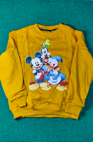 HELIKIDS HEL SL070 MICKEY AND FRIENDS KUNING
