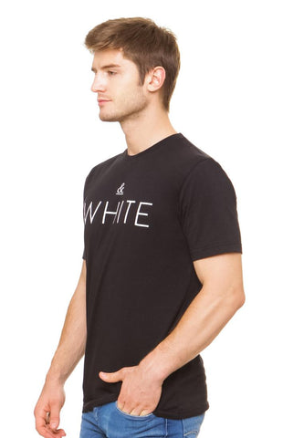 END-QL012/TSHIRT-E-WHITEBLACK-BLACK-M