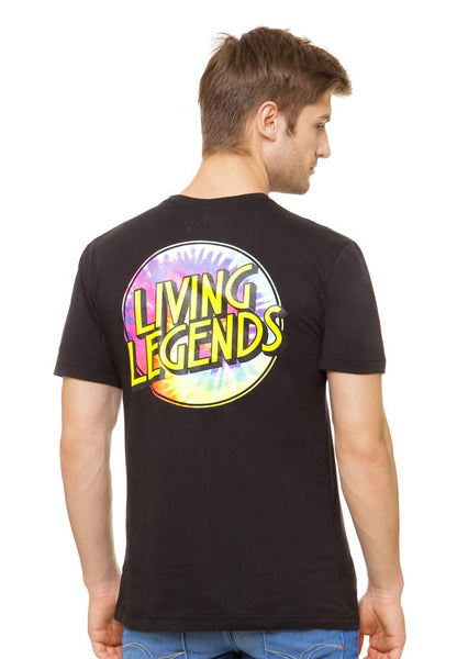 END-QL008/TSHIRT-E-LIVINGLEGEND-BLACK-M