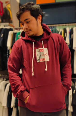 VOLTAIRE VOL TE001 HOODIE 11.309 RED FAKE