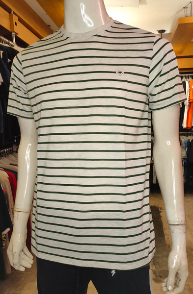 19JTND-M0101002 , WHITE STRIPE GREEN