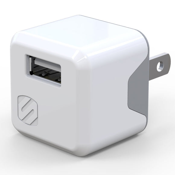 Scoche Super Cube - 12 Watt iPad & iPhone USB Power Adapter