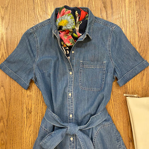 Seaboard Denim Dress