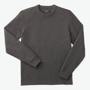 Waffle Knit Thermal Crew