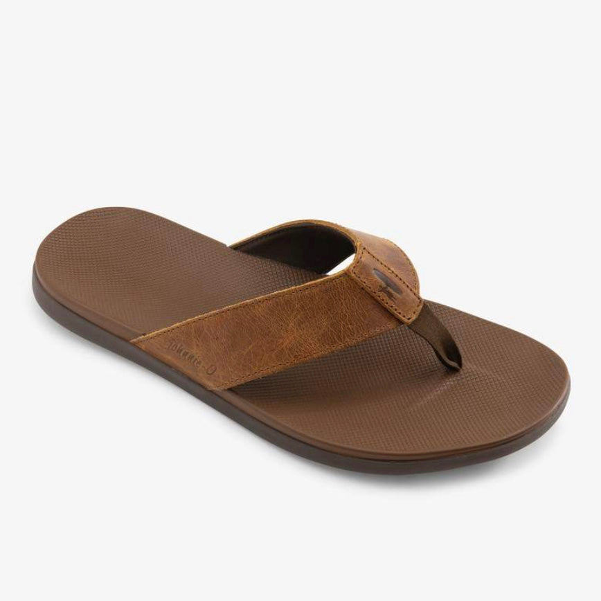 Leather Dockside Sandals