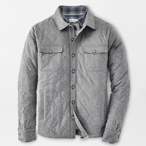Cotton-Cashmere Shirt Jacket