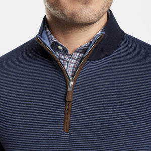Needle Stripe 1/4 Zip