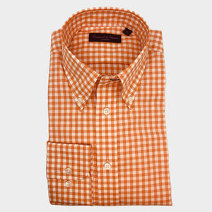 Gingham Button Down Sport Shirt