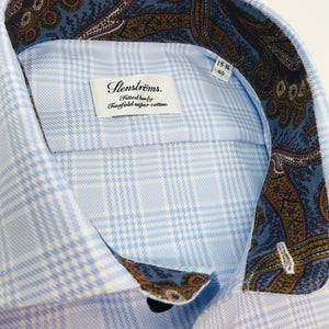 Glen Plaid w/Paisley Sport Shirt