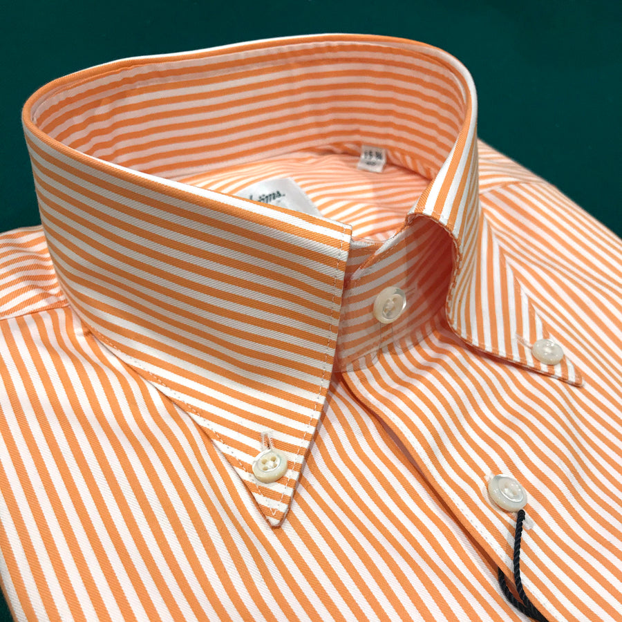 Orange Stripe Sport Shirt