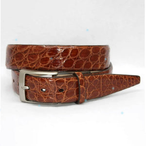 South American Glazed Caiman Belt