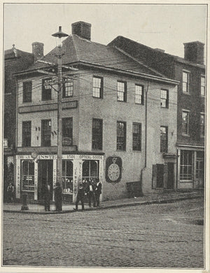 The offices of The Southern Literary Messenger where Poe worked during part of his time in Richmond