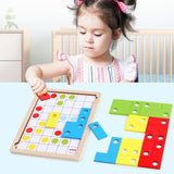 Kids Wooden Tetris Puzzle Toy