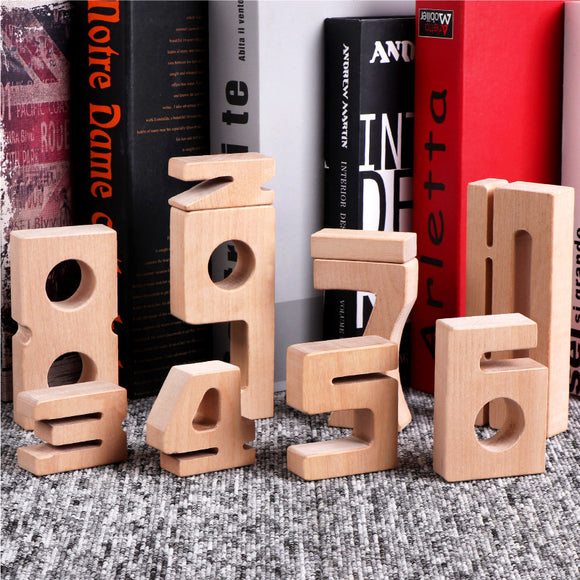 Wooden Stacking Building Block Toy