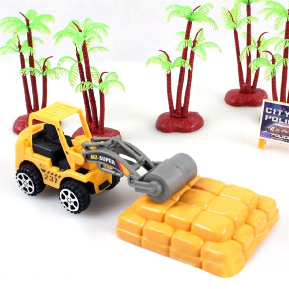 Mini Construction Vehicle Engineering Truck Toy Cars