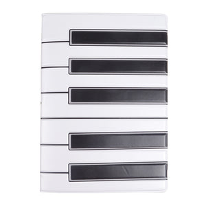 Piano Keys Model Passport Holder