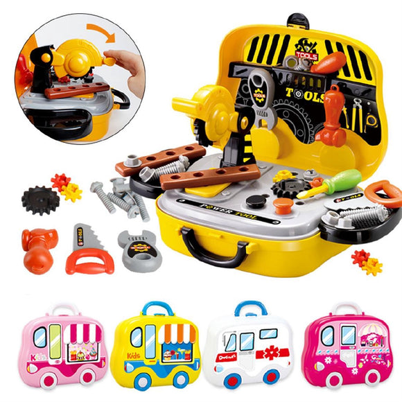Kids Pretend Play Tools Toy Set