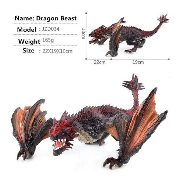 Jurassic Dinosaur Dragon Model Toy for Kids