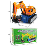 Simulation Excavator Model Toy For Kids