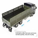 Truck Pull Back Alloy Truck Toy