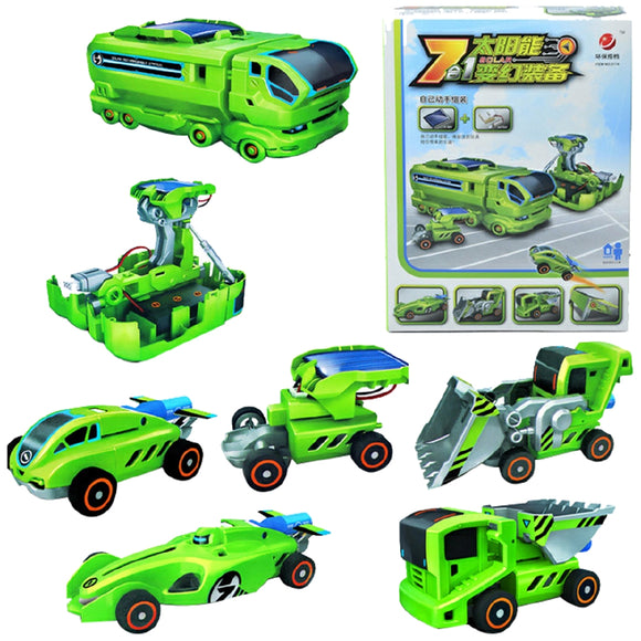 Solar Engineering DIY Toy Cars For Kids